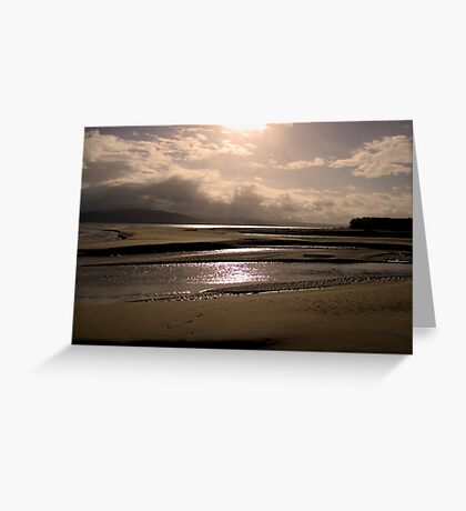 Good Morning from Portsalon, Donegal Greeting Card