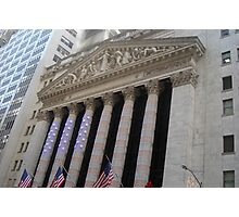 New York Stock Exchange Photographic Print