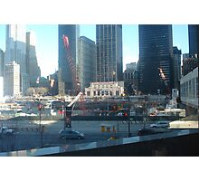 Ground Zero (Twin Towers) Photographic Print