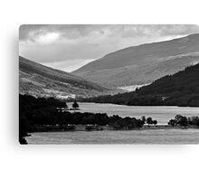 Loch Voil - Light & Shade Canvas Print