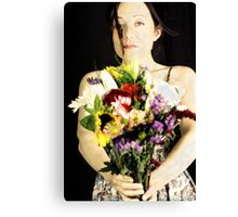 Offering Canvas Print