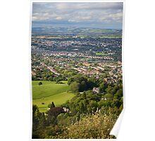 Leckhampton over Cheltenham Poster