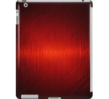 Abstract red background iPad Case/Skin