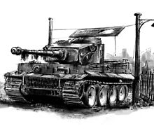 Tiger Heavy Tank by olivercook