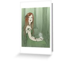 Forest Elf Greeting Card