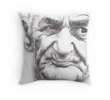 Old Man Throw Pillow