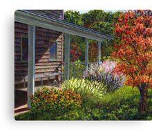 Back Porch Canvas Print