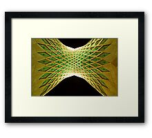 Azadi Tower (Underneath) -Tehran - Iran Framed Print