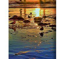 Beach Rainbow Photographic Print