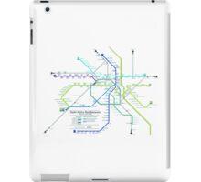 Metro delhi iPad Case/Skin