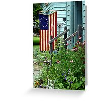 Patriotic Garden Greeting Card