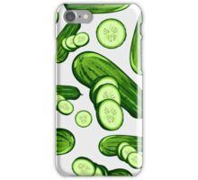 Veggiephile - Cucumbers iPhone Case/Skin