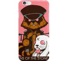 queen of the stone age pink iPhone Case/Skin