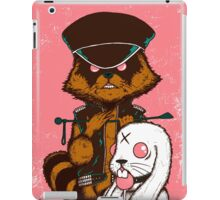 queen of the stone age pink iPad Case/Skin