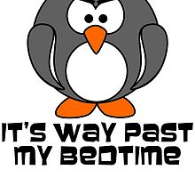 Big Bad Bedtime Penguin by RixzStuff
