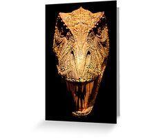 Mesozoic Wildlife Greeting Card