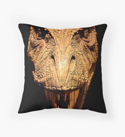 Mesozoic Wildlife Throw Pillow