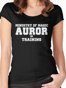 Auror in Training Women's Fitted Scoop T-Shirt