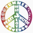Summer of '69 Tee by Jan Landers