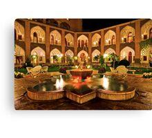 The Amazing Abbasi Hotel - Isfahan - Iran Canvas Print