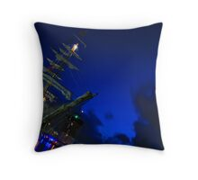 Europa Tall Ship Throw Pillow