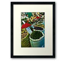 Spice Bazaar - Isfahan - Iran Framed Print