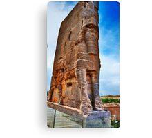 Palace Entrance - Persepolis - Iran Canvas Print