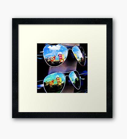Goggles - Camden Markets - London - England Framed Print