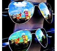 Goggles - Camden Markets - London - England Photographic Print
