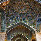 Vakil Mosque Main Entrance - Shiraz - Iran by Bryan Freeman