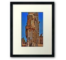 Old Cow - Persepolis - Iran Framed Print