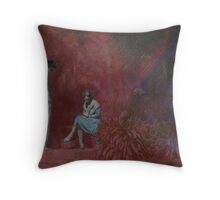 Uncomfortable Silence. Throw Pillow