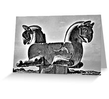 Double Headed Griffin - Persepolis - Iran Greeting Card