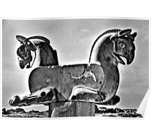Double Headed Griffin - Persepolis - Iran Poster
