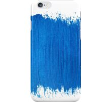 Square blue watercolour  iPhone Case/Skin