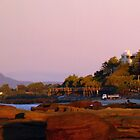 Caloundra sunrise panorama by Liza Yorkston