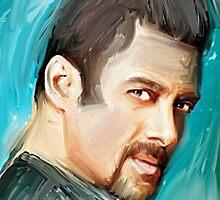 Salman Khan portrait by digitaldrool