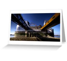 Thames Barrier 1 Greeting Card