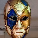 Venetian Carnivale Mask by Keith Richardson
