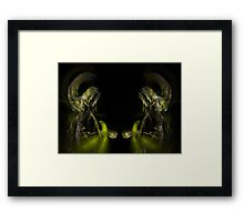 In Their Hands Now Framed Print