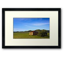 Farmhouse at Burra South Australia Framed Print
