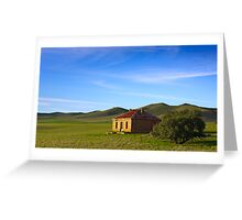 Farmhouse at Burra South Australia Greeting Card