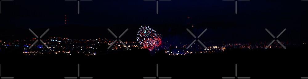 Fireworks Over Belfast by blueguitarman