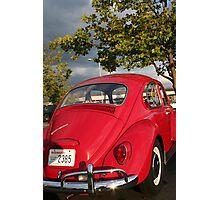 Slug Bug Red Photographic Print