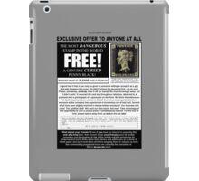 FREE! Genuine Cursed Penny Black! iPad Case/Skin