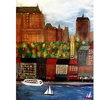 Quebec  City  Waterfront      Photographic Print