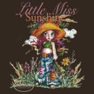 Classic: Little Miss Sunshine - for darker tees by Elisabeth Bell
