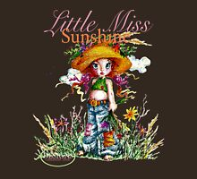 Classic: Little Miss Sunshine - for darker tees Womens Fitted T-Shirt