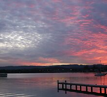 Winter Sunset - Bolton Point by Rochelle Buckley