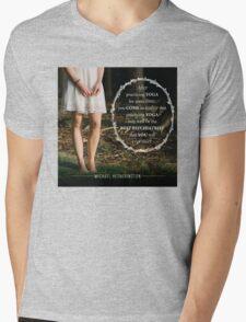 Yoga Psychiatry Mens V-Neck T-Shirt